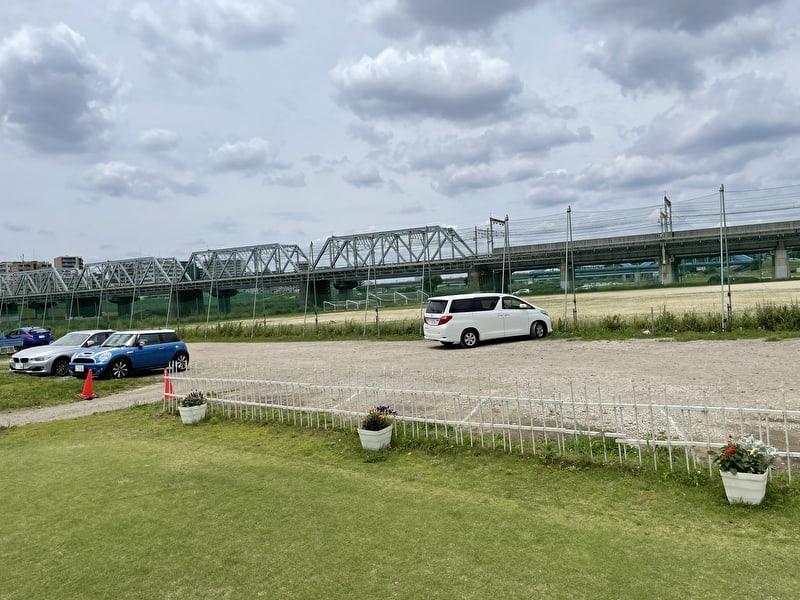 東京多摩川ゴルフ練習場 駐車場