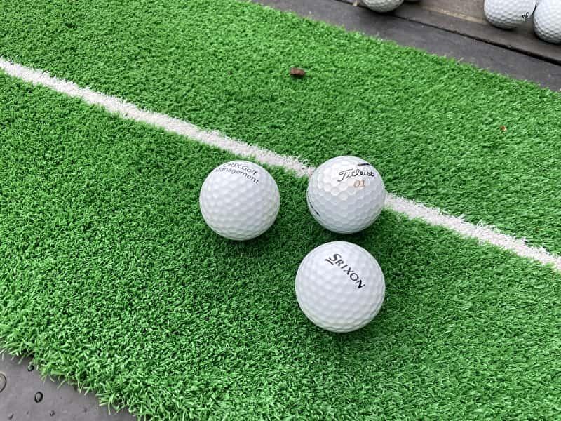 出島ゴルフクラブ 練習球