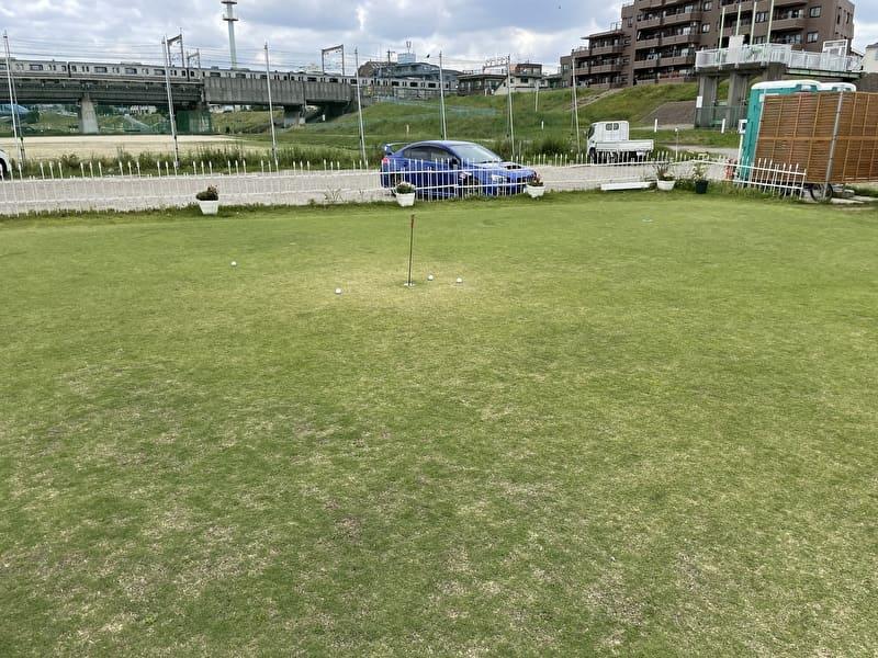 東京多摩川ゴルフ練習場 パター練習場