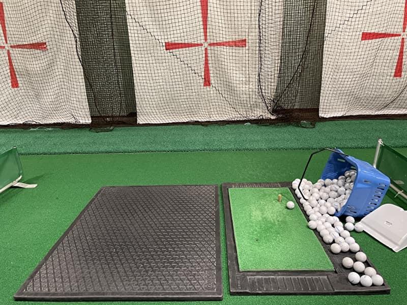 渋谷deゴルフ レッスン 打席