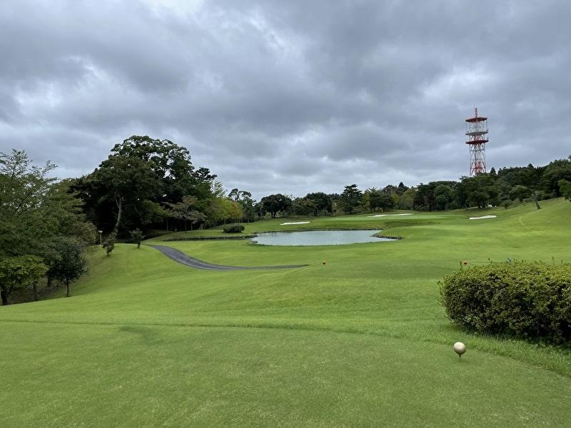 立野クラシックゴルフ倶楽部 名物ショートホール