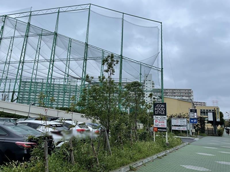 フナボリゴルフ 江戸川区打ちっぱなし アクセス