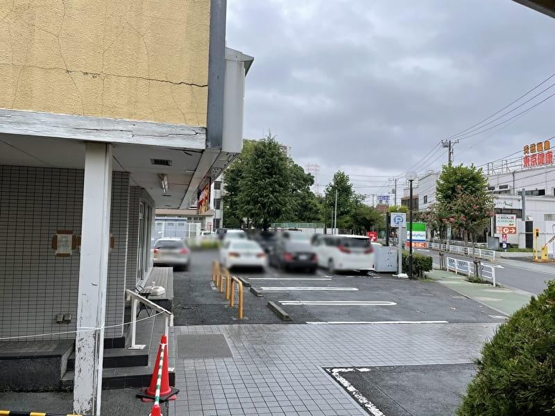 フナボリゴルフ 江戸川区打ちっぱなし 駐車場