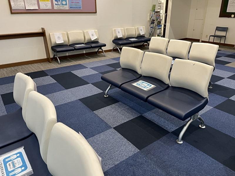 フナボリゴルフ 江戸川区打ちっぱなし 待合室