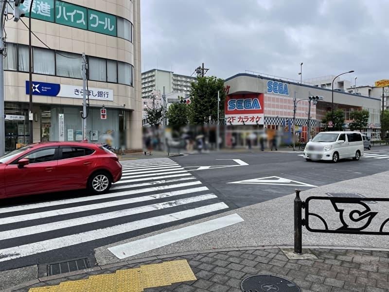 フナボリゴルフ 江戸川区打ちっぱなし 船堀駅からのアクセス