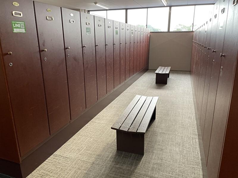 かずさカントリークラブ ロッカー室