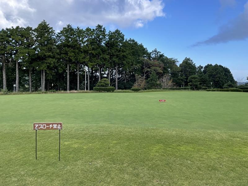 上総富士ゴルフクラブ パター練習場