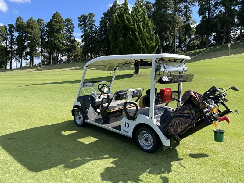 上総富士ゴルフクラブ カート乗り入れ可能